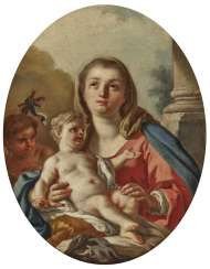 Mary with the child and the boy John