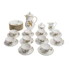 MEISSEN coffee service for 10 people,