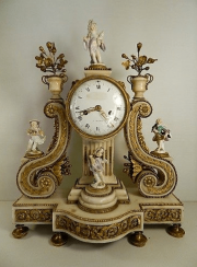 watch the XVIII century porcelain Meissen XVIII