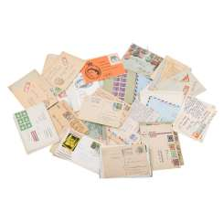 Approximately 100 letters and cards, from the high inflation of 1923