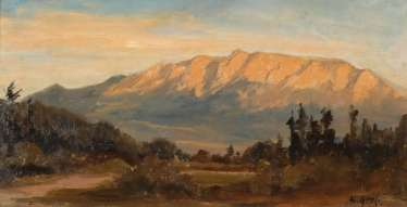 Munich Landscape Painter: The Foothills Of The Alps