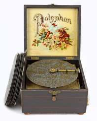 Polyphonic with metal plates 1900's