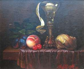 still life in Dutch style