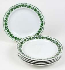 Meissen 5 Dinner Plate *Vine Leaves*