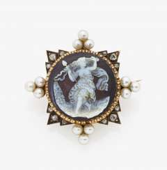 Cameo brooch, Germany, late 19th century