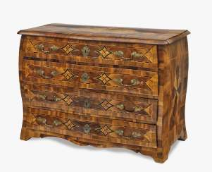 South German chest of drawers, 18th century