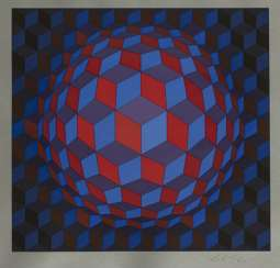 Vasarely, Victor - Untitled