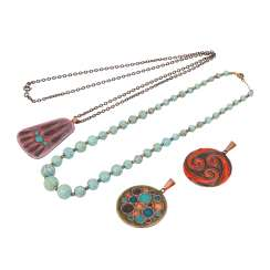Jewelry mixed lot 4-piece