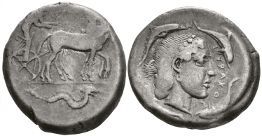 ANCIENT GREECE, SICILY, SYRACUSE TETRADRACHM