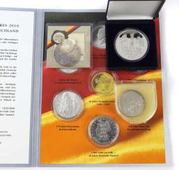5 commemorative coins BRD