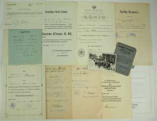 Bavaria: deed estate of a Deputy paymaster in the 11. Field-Artillery-Regiment / Upper-Air Protection Leader.