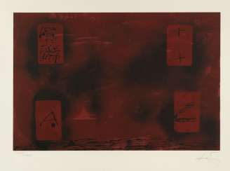 Tàpies, Antoni - Four rectangles