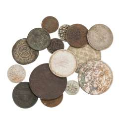 British India / Kutch / today: Kachchh - mixed lot of 17 coins,