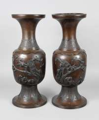 Pair Of Floor Vases