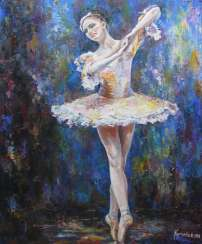 Ballerina in dance
