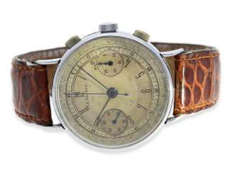 Watch: very rare, early Chronograph, Blum & Ostersetzer S. A.