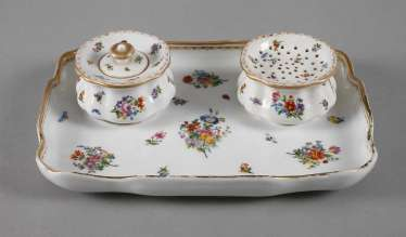 Meissen Set Of Historicism