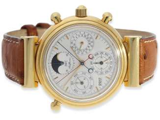 Watch: very high quality, astronomical IWC Da Vinci
