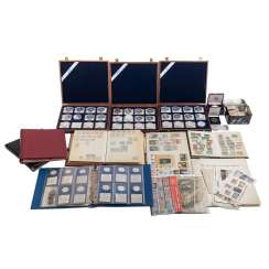 Coins, Medals, Stamps, Banknotes - Collection Task