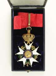 The order of the Legion of honor,