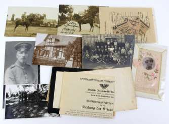 Photo u. Documents from the Glauchau estate