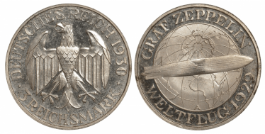 GERMANY 3 MARK 1930 A -