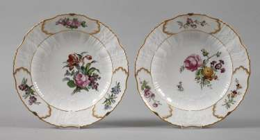 Royal Copenhagen two magnificent plate of