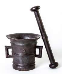 Italian mortar with pestle