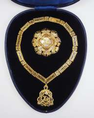 Italy: the highest order of all saints Annunciation / Annunziaten order, order Set, in a case.