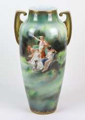 great art Nouveau handle vase around 1900