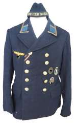 "Navy: Uniform estate of a boatswain's mate of the ""Kreuzer Köln""."
