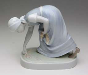 Porcelain Figurine Ears Reader