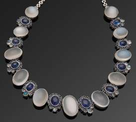 Representative moonstone necklace