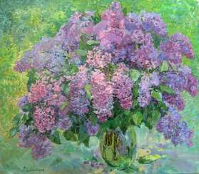 Lilac bouquet-a Bouquet of lilacs