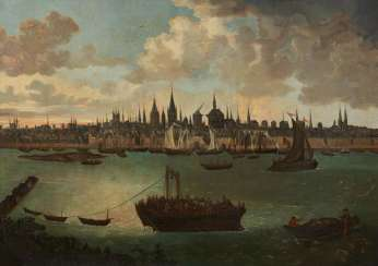 View of the city of Cologne around 1740