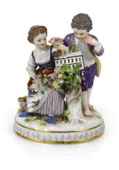Gardener Couple, Meissen, Around 1900