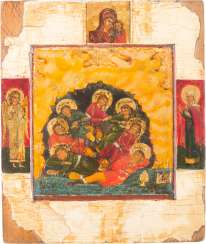 SMALL ICON OF THE SEVEN SLEEPERS OF EPHESUS