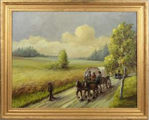 The country with horse-drawn carriages - Holzkamp