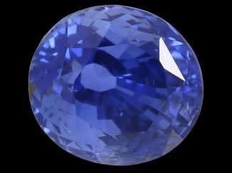 Sapphire: natural blue sapphire from Sri Lanka, approx. 2,63 ct, untreated