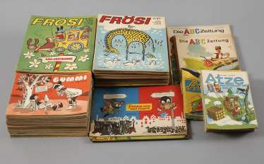 Collection of Comic books of the GDR