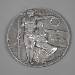 Silver Medal Of Vienna