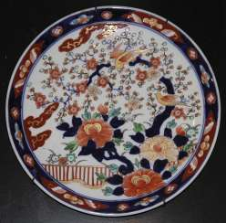 A pair of wall plates. Japan