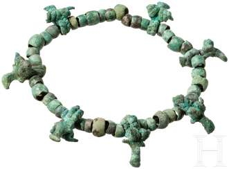 Necklace made of Bronze with animal protomen, Caucasus, Koban culture, 8. - 7. Century before Christ