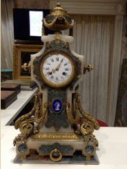 Mantel clock France 1867