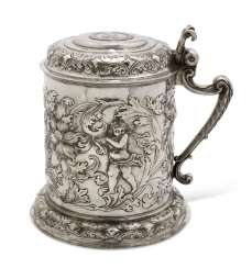 AN IMPORTANT SILVER TANKARD