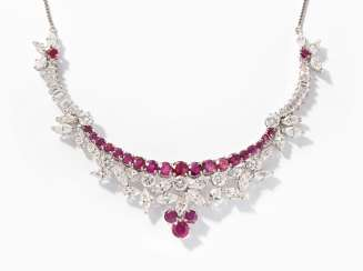 Ruby-Diamond-Collier