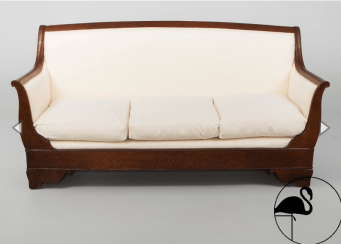 Sofa Biedermeier of the XIX century