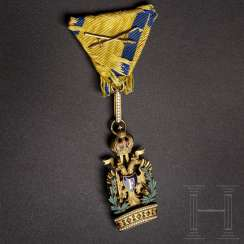 Imperial Austrian Order of the Iron Crown, 3rd class (Knight's Cross), with war decoration (KD)