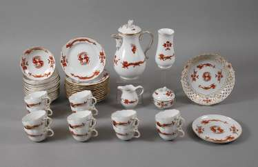 Meissen coffee service for