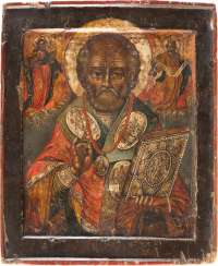 ICON WITH THE SAINT NICHOLAS THE WONDERWORKER